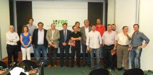 La Fundación del Jamón Serrano, con las empresas jamoneras de Segovia